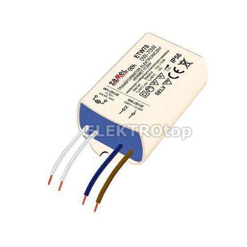 Transformator elektroniczny zalewany 230/11,5V 0-70W TYP: ETW70 z kategorii Transformatory
