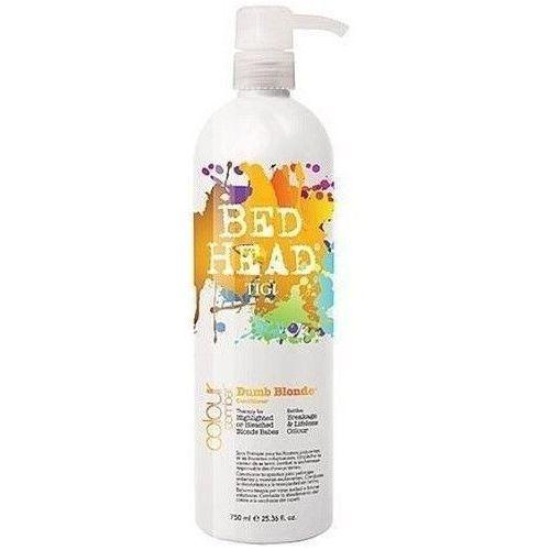 Produkt z kategorii- odżywki do włosów - Tigi Bed Head Combat Dumb Blonde Conditioner 750ml W Odżywka do włosów blond + Próbka perfum GRATIS + Wysyłka od 6zł!