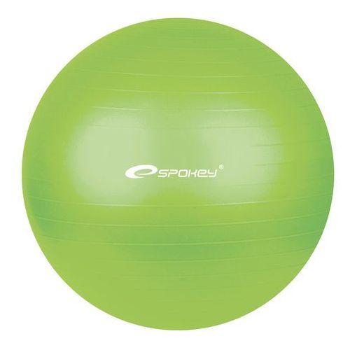 Gimnastyczny piłka  Fitball zielony 65 cm, produkt marki Spokey