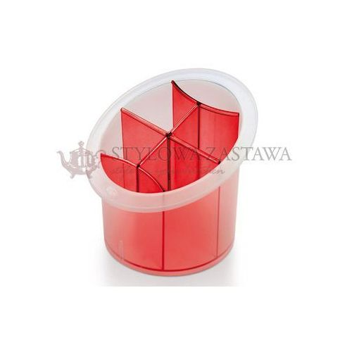 Produkt z kategorii- suszarki do naczyń - Ociekacz do sztućców Snips Margherita czerwony