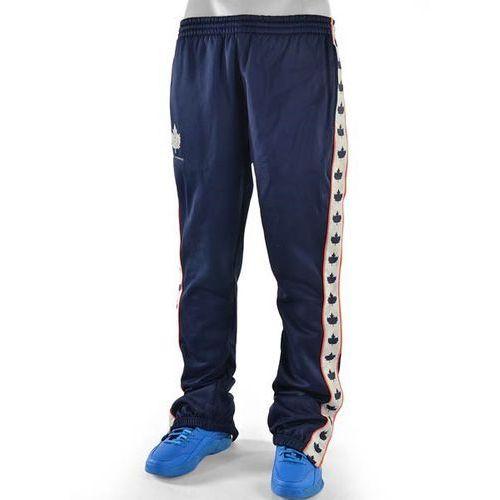 spodnie dresowe K1X - Leaf Panel Tear Away Track Pant Navy/Bone/Flame (4246) - produkt z kategorii- spodnie m�