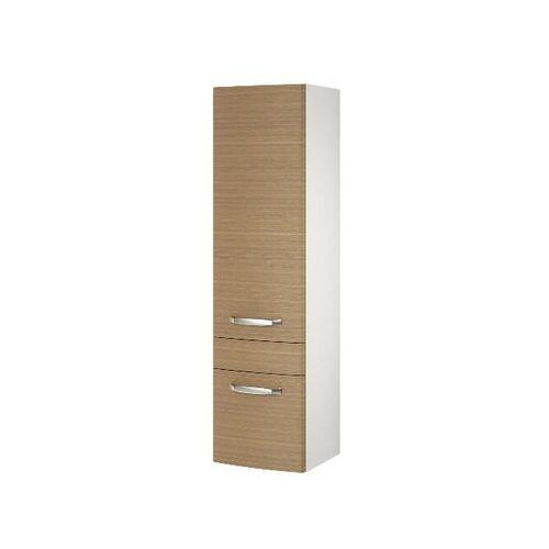 Słupek łazienkowy PURE jasny orzech S910-009 Cersanit - produkt z kategorii- regały łazienkowe