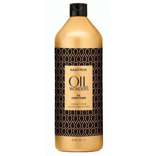Matrix Oil Wonders - odżywka z olejkiem arganowym 1000ml - produkt z kategorii- odżywki do włosów