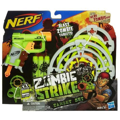 Wyrzutnia HASBRO Nerf Zombie Strike Targeting Set oferta ze sklepu ELECTRO.pl
