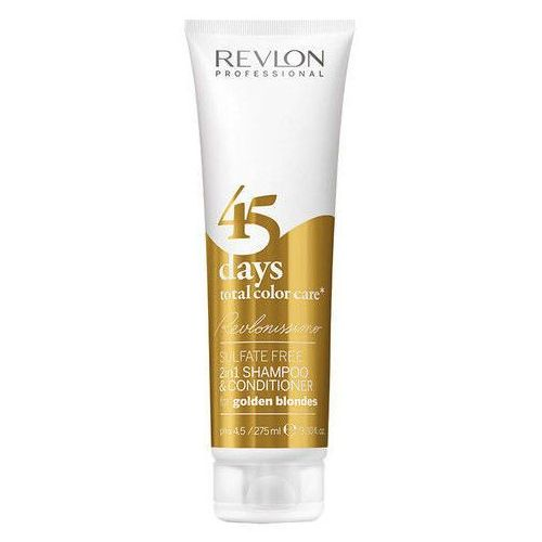 Revlon Revlonissimo 45 Days 2in1 For Golden Blondes 275ml W Odżywka do włosów - produkt z kategorii- odżywki do włosów