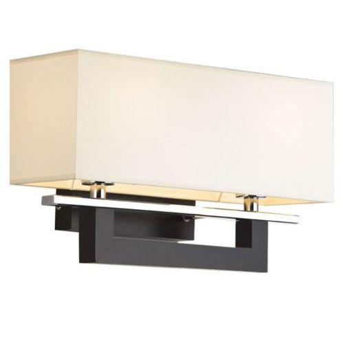 ABAŻUROWA lampa ŚCIENNA kinkiet SONATA  560 2pł kremowy brązowy wenge chrom, produkt marki Argon