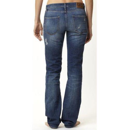 jeansy Quiksilver Shipley Straight - True Blue - produkt z kategorii- spodnie męskie