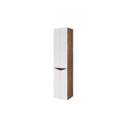 Produkt z kategorii- regały łazienkowe - AQUAFORM słupek wysoki Ramos Evolution biały/dąb 0415-433124