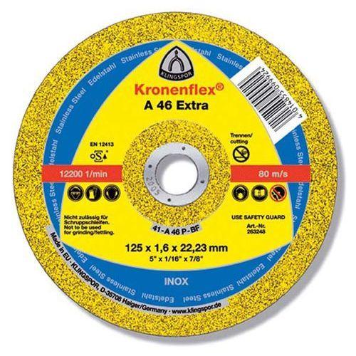 Oferta TARCZA FLEX 41 125x1,6x22,2 A 46 EXTRA KLINGSPOR