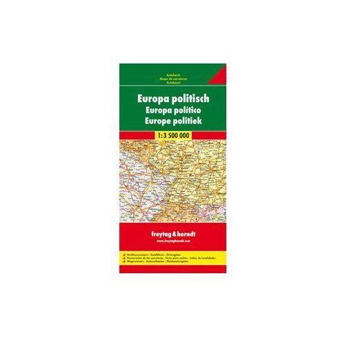 Europa mapa polityczno drogowa 1:3 500 000, produkt marki Freytag
