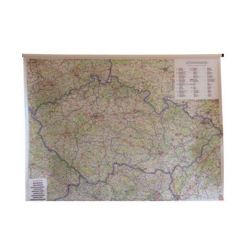 Czechy. Mapa ścienna drogowa 1:400 000 wyd. , produkt marki Freytag&Berndt