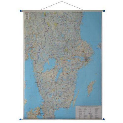 Szwecja. Mapa ścienna drogowa 1:600 000 wyd. Freytag & Berndt, produkt marki Freytag&Berndt