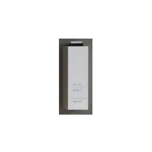 Szafka Elita Kwadro 40 słupek biała 162328 - produkt z kategorii- regały łazienkowe