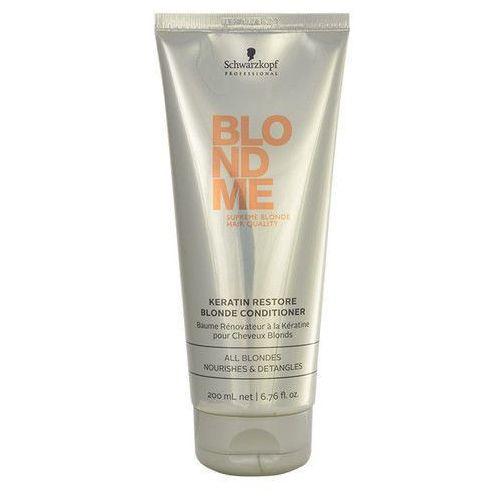 Schwarzkopf Blond Me Keratin Restore Blonde Conditioner 200ml W Odżywka do włosów blond - produkt z kategorii- odżywki do włosów