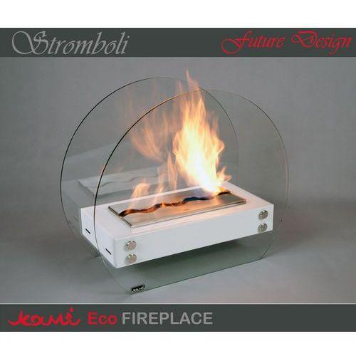 Oferta Biokominek Stromboli White by Kami [1507d444931f73dc]