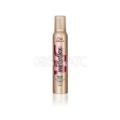 Produkt z kategorii- pozostałe kosmetyki do włosów - Wellaflex Brillant Colour (Lśniący Kolor) Pianka, 200 ml
