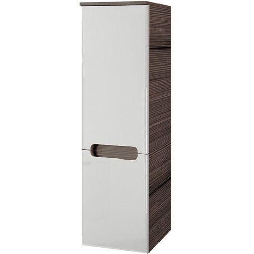 Produkt z kategorii- regały łazienkowe - CLASSIC - Słupek boczny SB-350, biały/espresso, L
