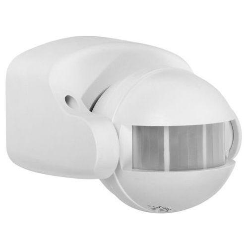 GTV Czujnik ruchu i zmierzchu 180 stopni IP44 biały CR-1 z kategorii oświetlenie