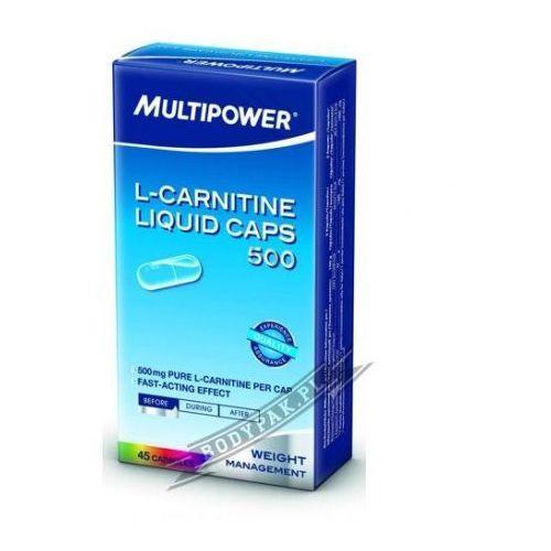 l-carnitine liquid caps 500mg - 45 kaps wyprodukowany przez Multipower