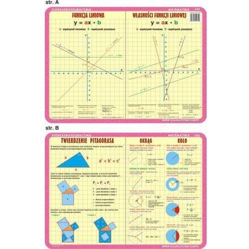 Matematyka - podkładka edukacyjna nr 030 - oferta [4570dead5f6313ef]