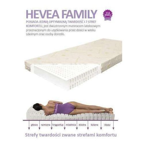 Produkt MATERAC LATEKSOWY FAMILY 160x200cm HEVEA