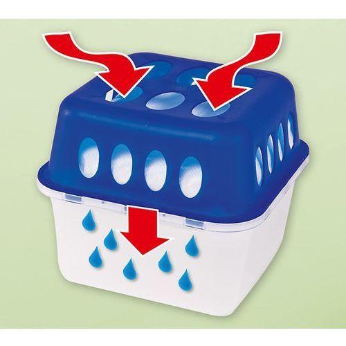 Osuszacz powietrza z 2 zapasowimi wkładkami, 13,5 x 13,5 x 12 cm, towar z kategorii: Osuszacze powietrza
