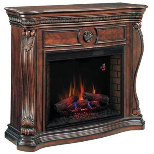 82839529 Kominek elektryczny z obudową Classic Flame Lexington (kolor: wiśnia) - oferta [4562e50c51d2132e]