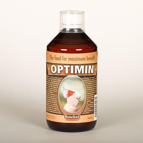 OPTIMIN E - 500 ml - ODŻYWKA WZMACNIAJĄCA DLA PTAKÓW EGZOTYCZNYCH