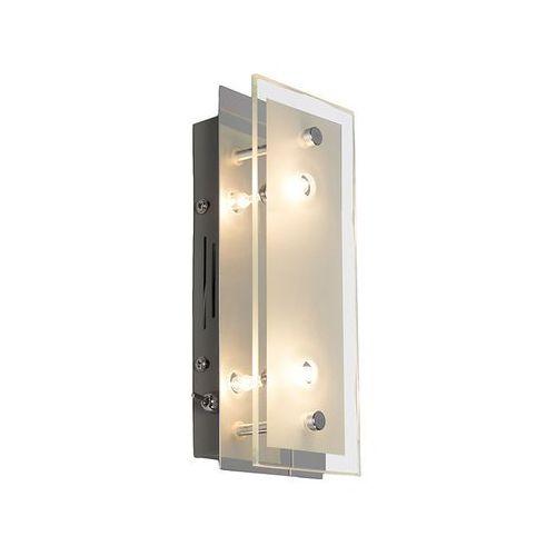 Lampa ścienna Troy 2 chrom, produkt marki Trio Leuchten