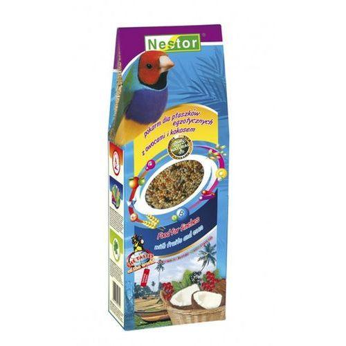 NESTOR Pokarm dla ptaszków egzotycznych z owocami i kokosem 700ml