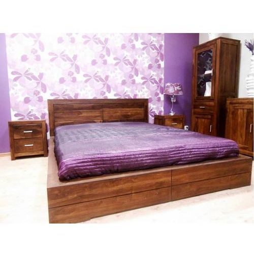 Łóżko do sypialni Florence / Rotterdam ze sklepu Mandallin Meble kolonialne