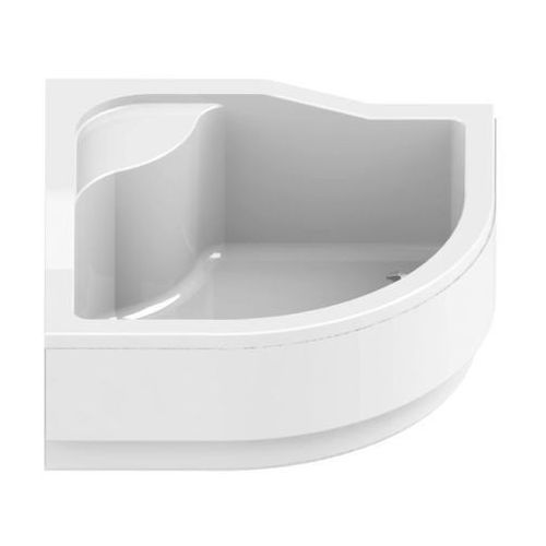 New trendy Półokrągły brodzik prysznicowy  - modern z podwyższonym siedziskiem 90x90x28