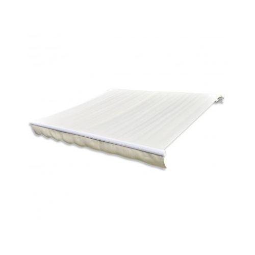 Markiza przeciwsłoneczna kremowe płótno 3 x 2,5 m ( bez stelażu ) - sprawdź w VidaXL