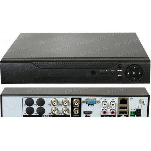 Rejestrator standardowy, NVR-IP, hybrydowy AXR SDVR63BL04-Y