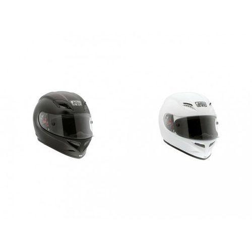 Kask AGV GRID MONO BLACK MONO WHITE 2013 z kategorii kaski motocyklowe