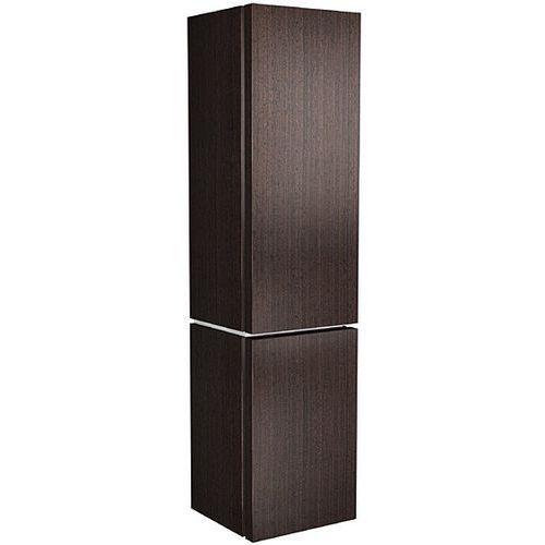 KOŁO szafka wisząca boczna wysoka Varius wenge - słupek 88118 - produkt z kategorii- regały łazienkowe