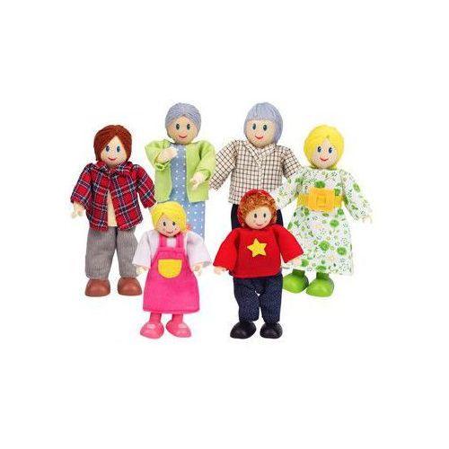 Rodzina kukiełek do zabawy dla dzieci (pacynka, kukiełka)