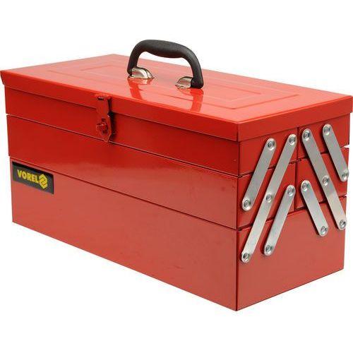 Towar Skrzynka narzędziowa, 466 mm. metalowa, 5 elementów. 81850 z kategorii skrzynki i walizki narzędziowe