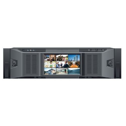 Rejestrator cyfrowy BCS-NVR12816D128 kan. 25 kl/s@D1, 64 kan. 25 kl/s@720P, 32 kan. 25 kl/s@1080P, 32 kan. 20 kl/s@3Mp, 32 kan. 8kl/s@5Mp. Obsługa HDMI, VGA, USB2.0, 16 SATA i 1 port eSATA