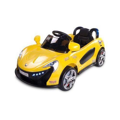 Caretero Toyz Samochód na akumulator dziecięcy Aero żółty yellow ze sklepu bobasowe-abcd