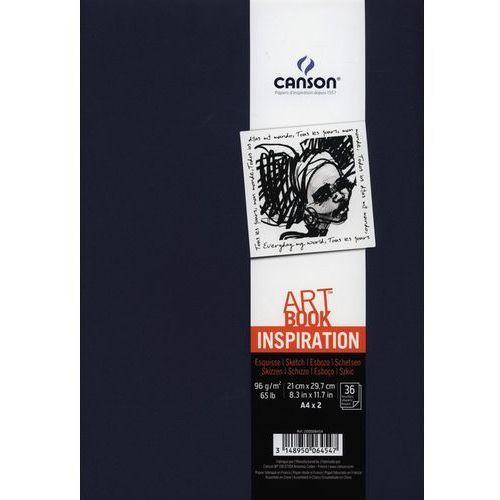 Szkicownik A4 Canson Artbook Inspiration 2x36 kartek granatowy - oferta [259b602975b57556]