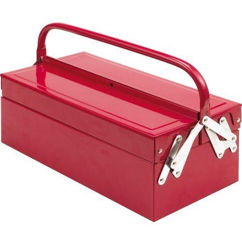 Towar Skrzynka narzędziowa 405 mm. metalowa, 3 elementy. 81840 z kategorii skrzynki i walizki narzędziowe