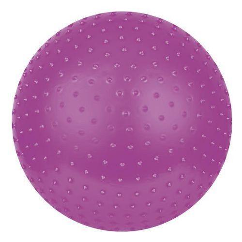 Produkt PIŁKA GIMNASTYCZNA DO MASAŻU - 75cm fioletowa nośnosc do 300 kg