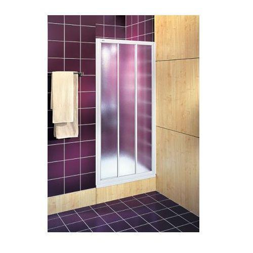 Oferta KOŁO drzwi Akord 80 rozsuwane szkło ze wzorem Crepi RDRS80202000 (drzwi prysznicowe)