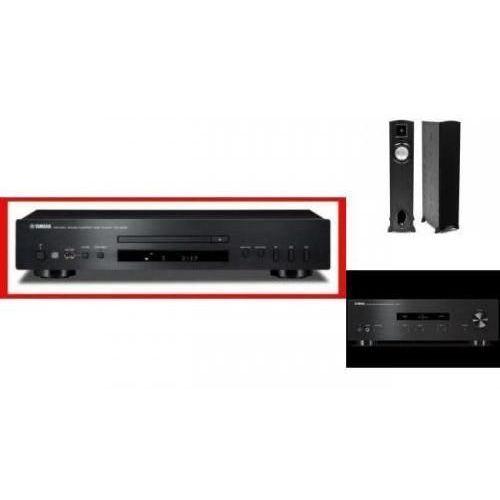 YAMAHA A-S201 + CD-S300 + KLIPSCH F10 - wieża, zestaw hifi - zmontuj tanio swój zestaw na stronie
