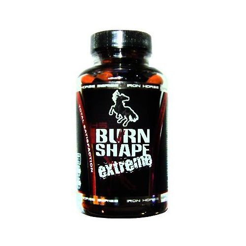 burn shape extreme - 90kaps + 30kaps gratis wyprodukowany przez Iron horse