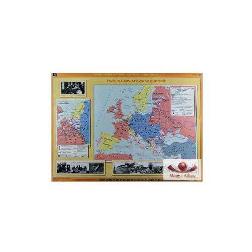 I wojna światowa w Europie/ Rewolucja w Rosji. Mapa ścienna, produkt marki Nowa Era