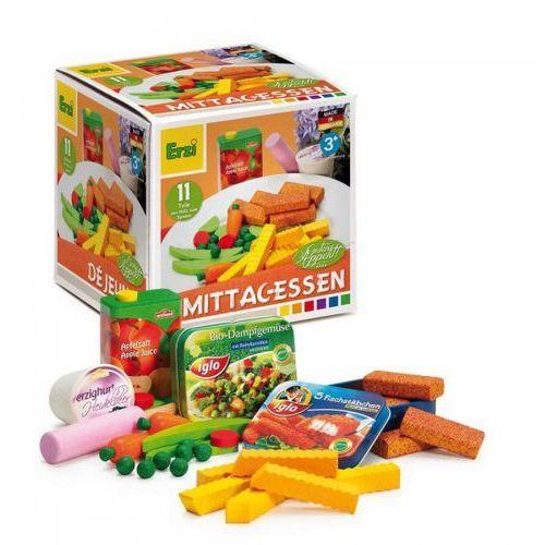 Akcesoria do zabawy w gotowanie Erzi - Obiad ER28153 oferta ze sklepu tublu.pl