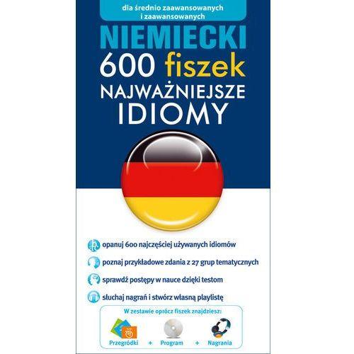 Niemiecki 600 fiszek Najważniejsze idiomy - oferta [35894b70778585cb]