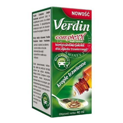 Verdin complexx krople trawienne 40 ml - produkt farmaceutyczny